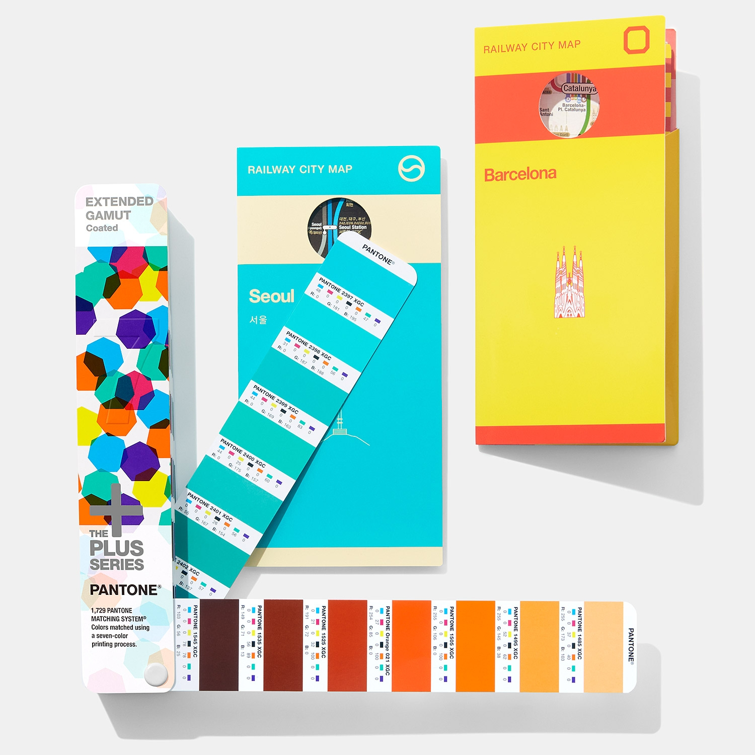 Pantone Solid-to-Seven Set Extended Gamut - View 1
