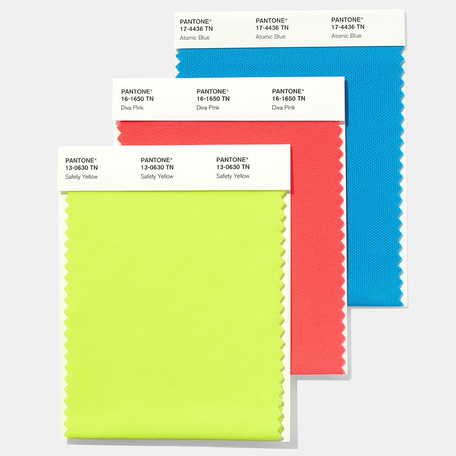 Nylon Brights Swatch Card