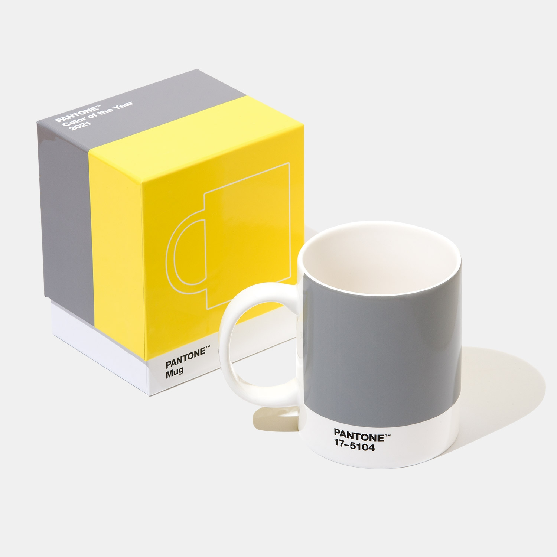 Taza de edición limitada, Pantone Color of the Year 2021 Ultimate Gray +  Illuminating | Pantone España
