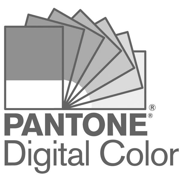 PANTONE Reference Library Plus Series Guides & Chip Books in display stand close up