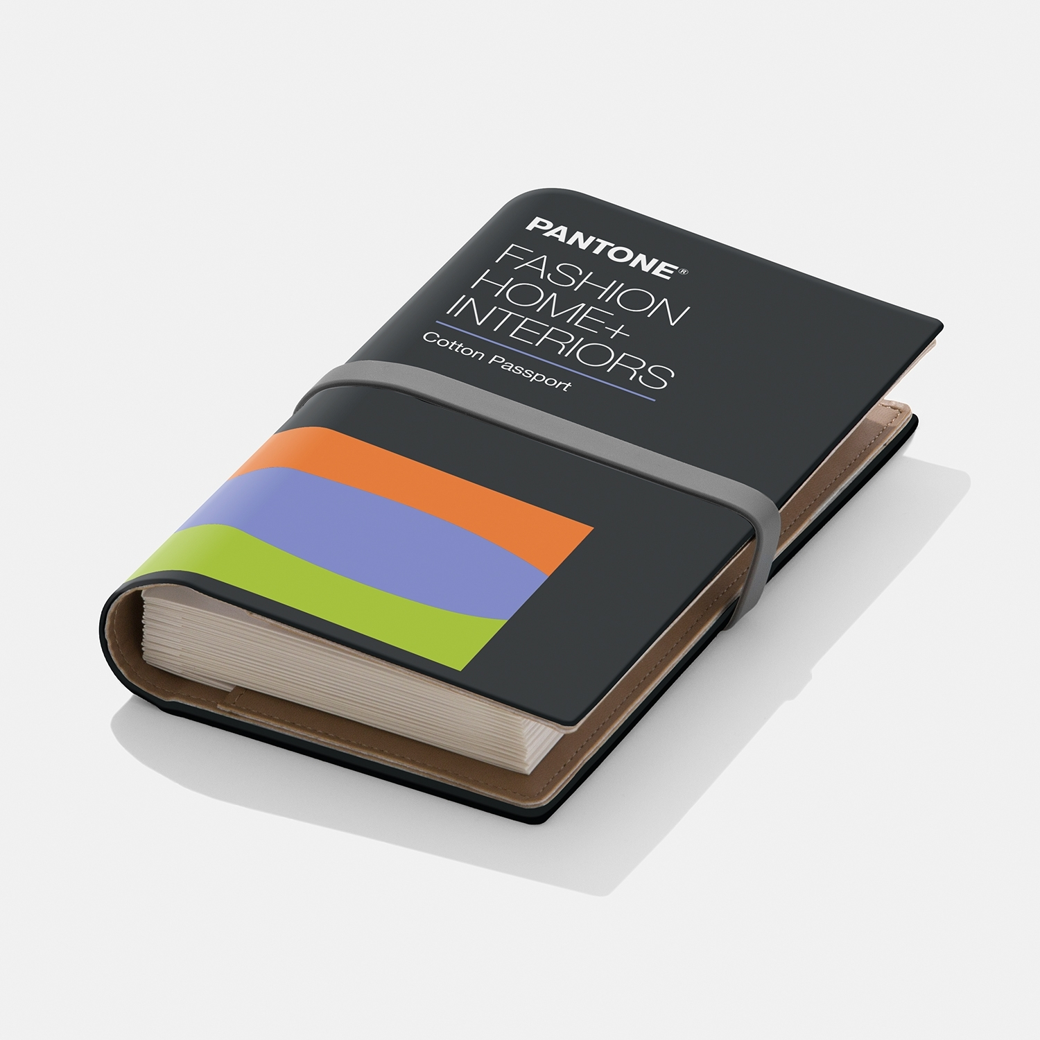Pantone FHI Cotton Passport 2019 edition Take your creativity to new places with Pantone Colors on cotton, to go - View 1