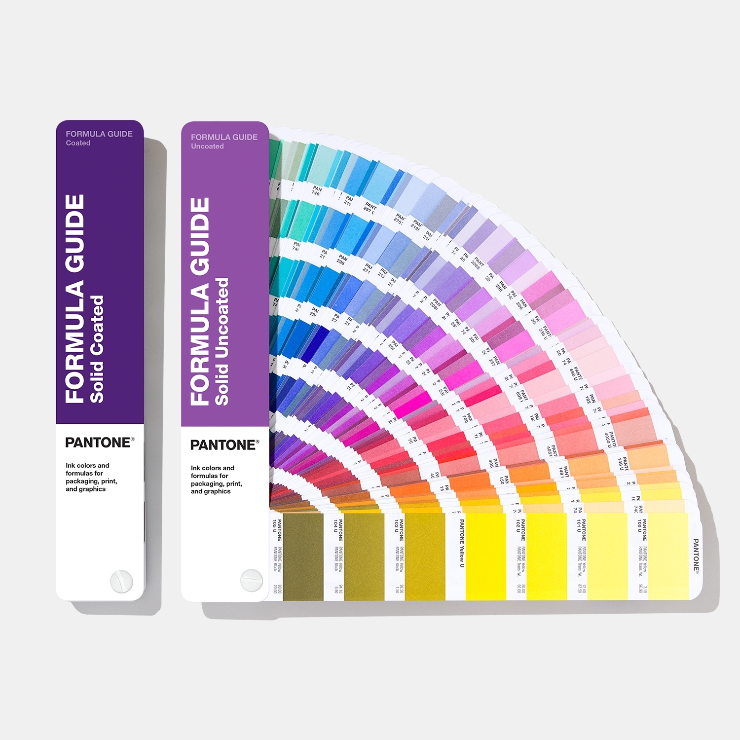 pantone formula guide solid coated uncoated color guide