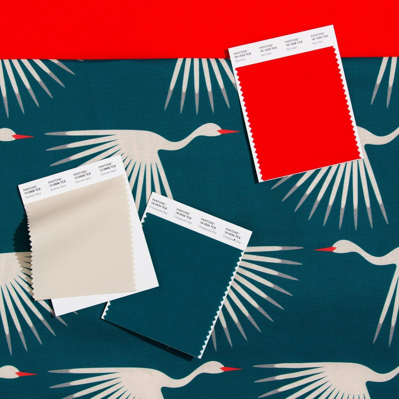 Cotton Swatch Card   Pantone Deutschland