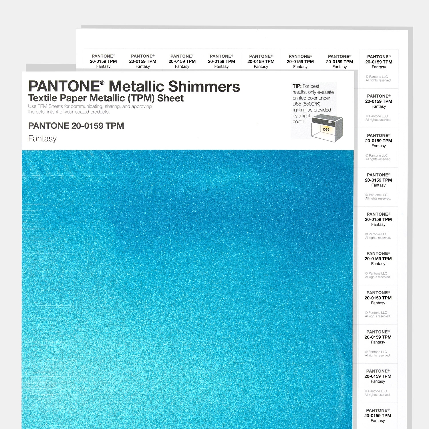 Shop Pantone Metallic Shimmers TPM Sheets