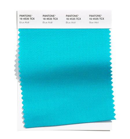 PANTONE 16-4535 Blue Atoll