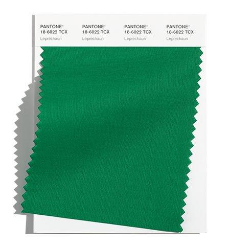Pantone Cotton Swatch 18-6022 TCX