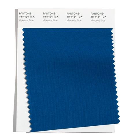 Pantone Cotton Swatch 18-4434 TCX