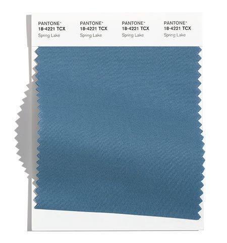 Pantone Cotton Swatch 18-4221 TCX