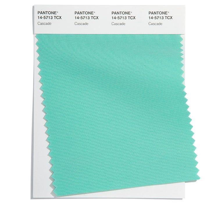 Pantone Cotton Swatch 14-5713 TCX