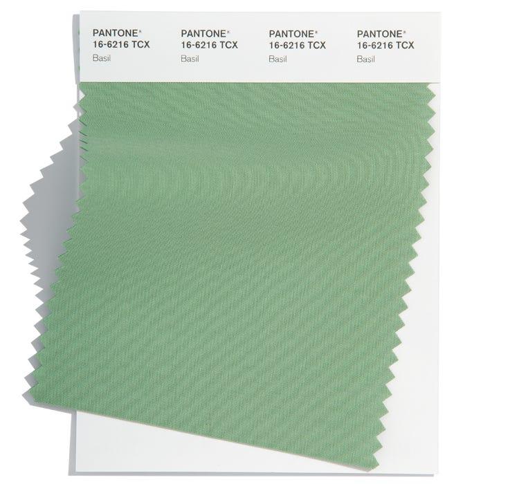 Pantone Cotton Swatch 16-6216 TCX