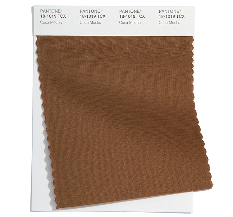 Pantone Cotton Swatch 18-1019 TCX