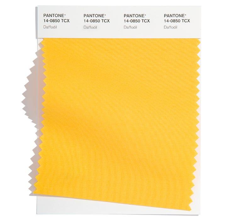 Pantone Cotton Swatch 14-0850 TCX
