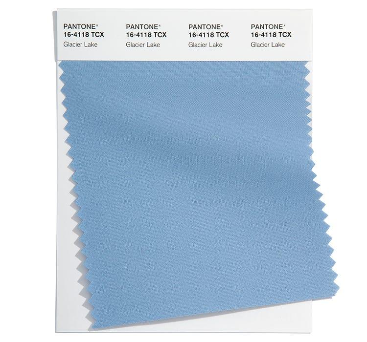 Pantone Cotton Swatch 16-4118 TCX