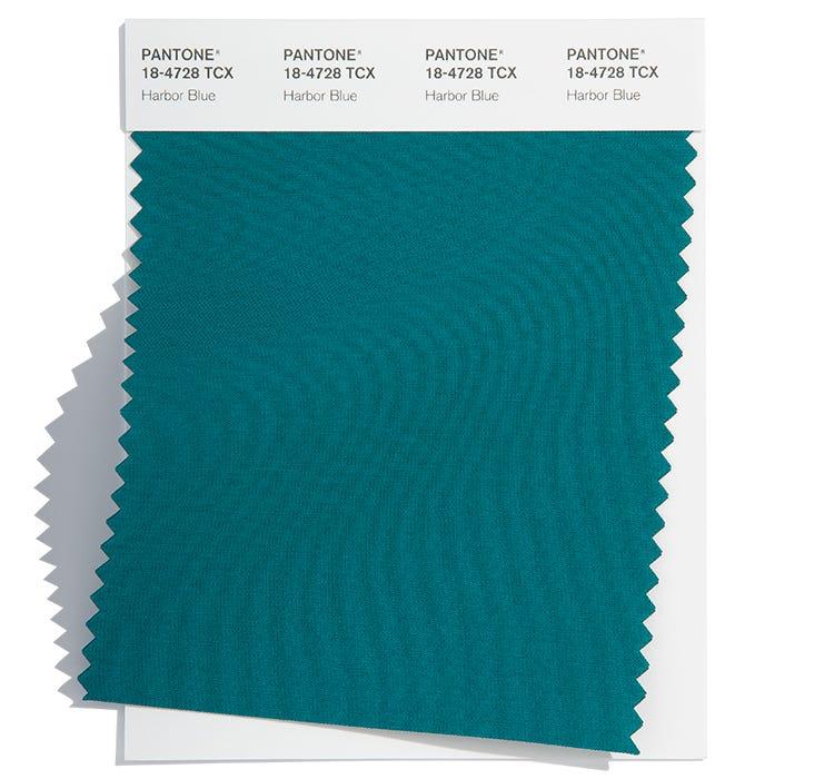 Pantone Cotton Swatch 18-4728 TCX