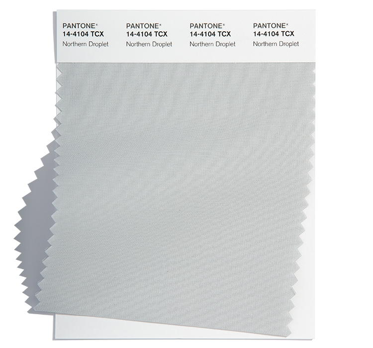 Pantone Cotton Swatch 14-4104 TCX