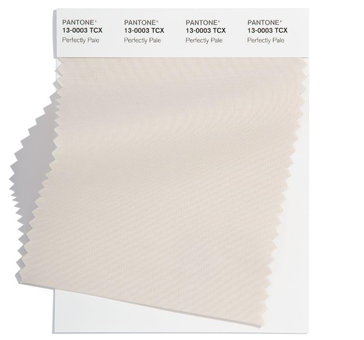 Pantone Cotton Swatch 13-0003 TCX