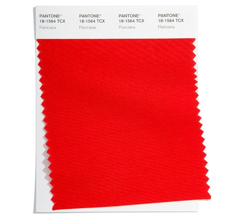Pantone Cotton Swatch 18-1564 TCX