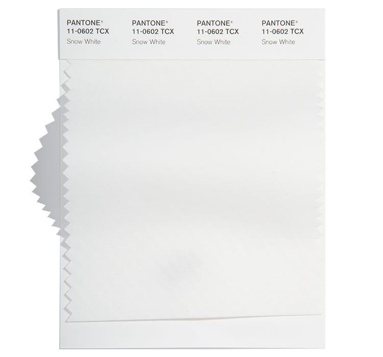 Pantone Cotton Swatch 11-0602 TCX