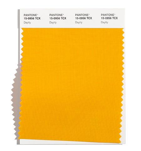 Pantone Cotton Swatch 15-0956 TCX
