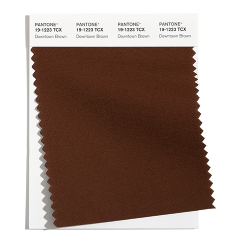Pantone Cotton Swatch 19-1223 TCX