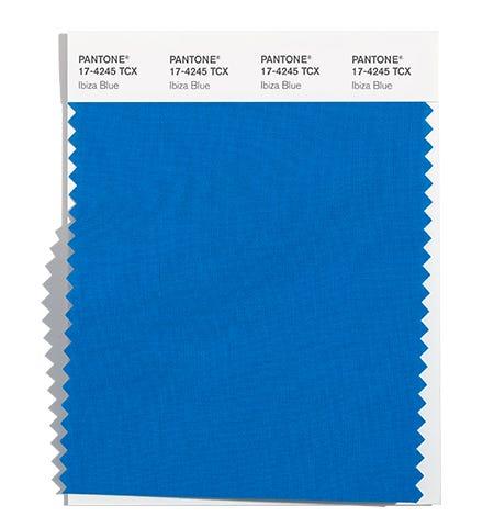 Pantone Cotton Swatch 17-4245 TCX