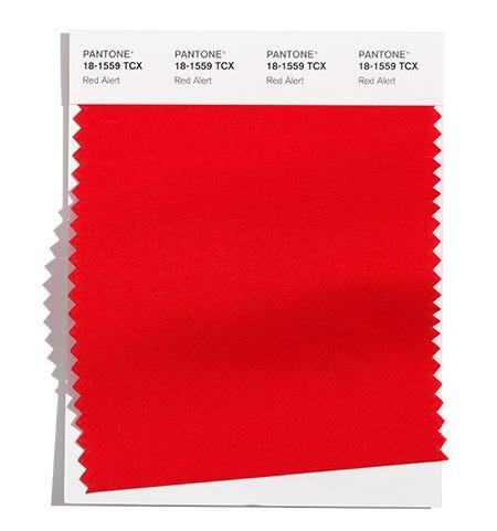 Pantone Cotton Swatch 18-1559 TCX