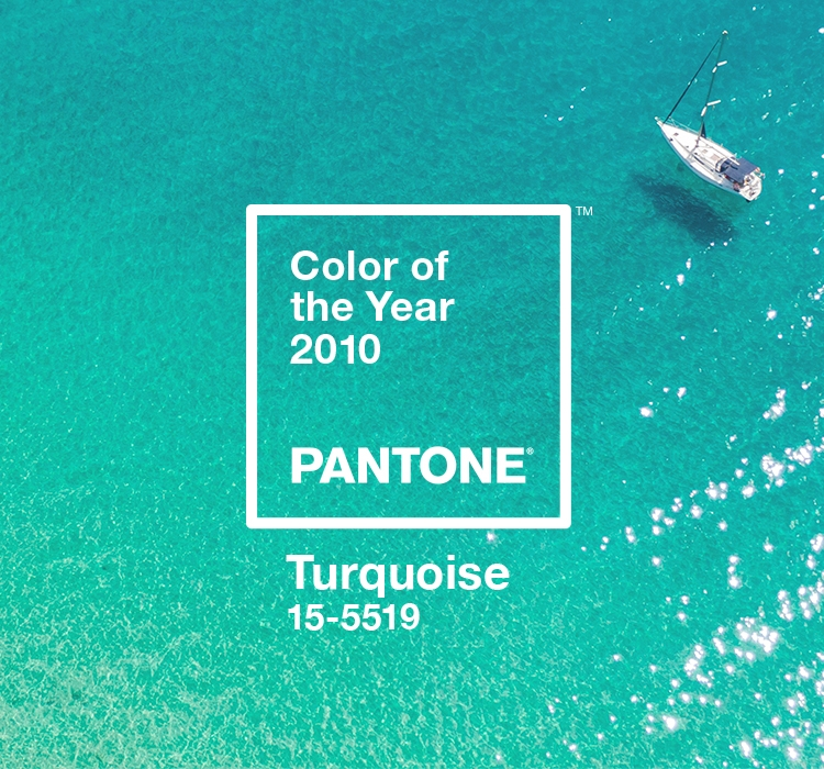 Color Of The Year 2010 Pantone 15 5519 Turquoise Pantone