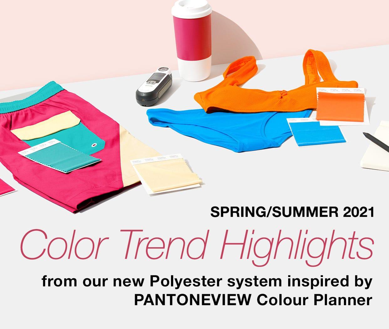 Color Trend Highlights Spring Summer 2021 Pantone